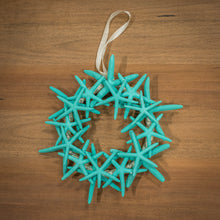 Load image into Gallery viewer, Starfish Wreath - Turquoise