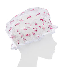 Load image into Gallery viewer, Shower Cap - Flamingos