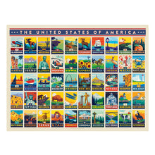 Load image into Gallery viewer, Jigsaw Puzzle - American States