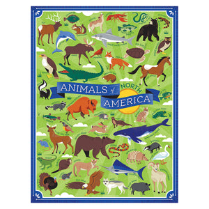 Jigsaw Puzzle - Animals of North America