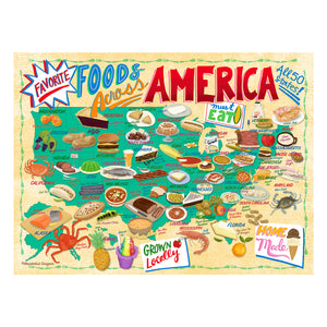 Jigsaw Puzzle - Favorite Foods Across America