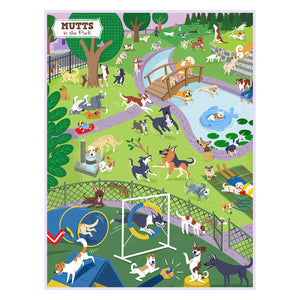 Jigsaw Puzzle - Mutts in the Park