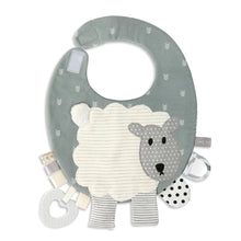 Load image into Gallery viewer, Mommy & Me Activity Bib - Lamb