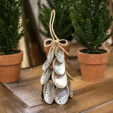Load image into Gallery viewer, Abalone Christmas Tree Ornament