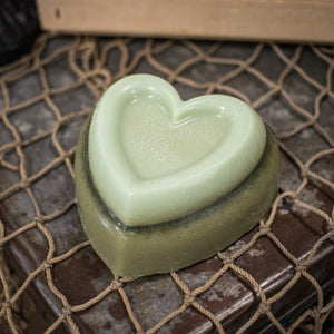 Bedrock Tree Farm Fir Needle Soap - Heart