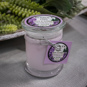Bedrock Tree Farm Soy Candle - Lavender