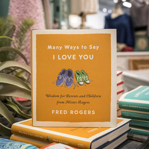 """Many Ways to Say I Love You"" Book"