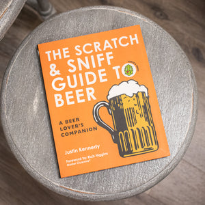 """The Scratch & Sniff Guide to Beer"" Book"