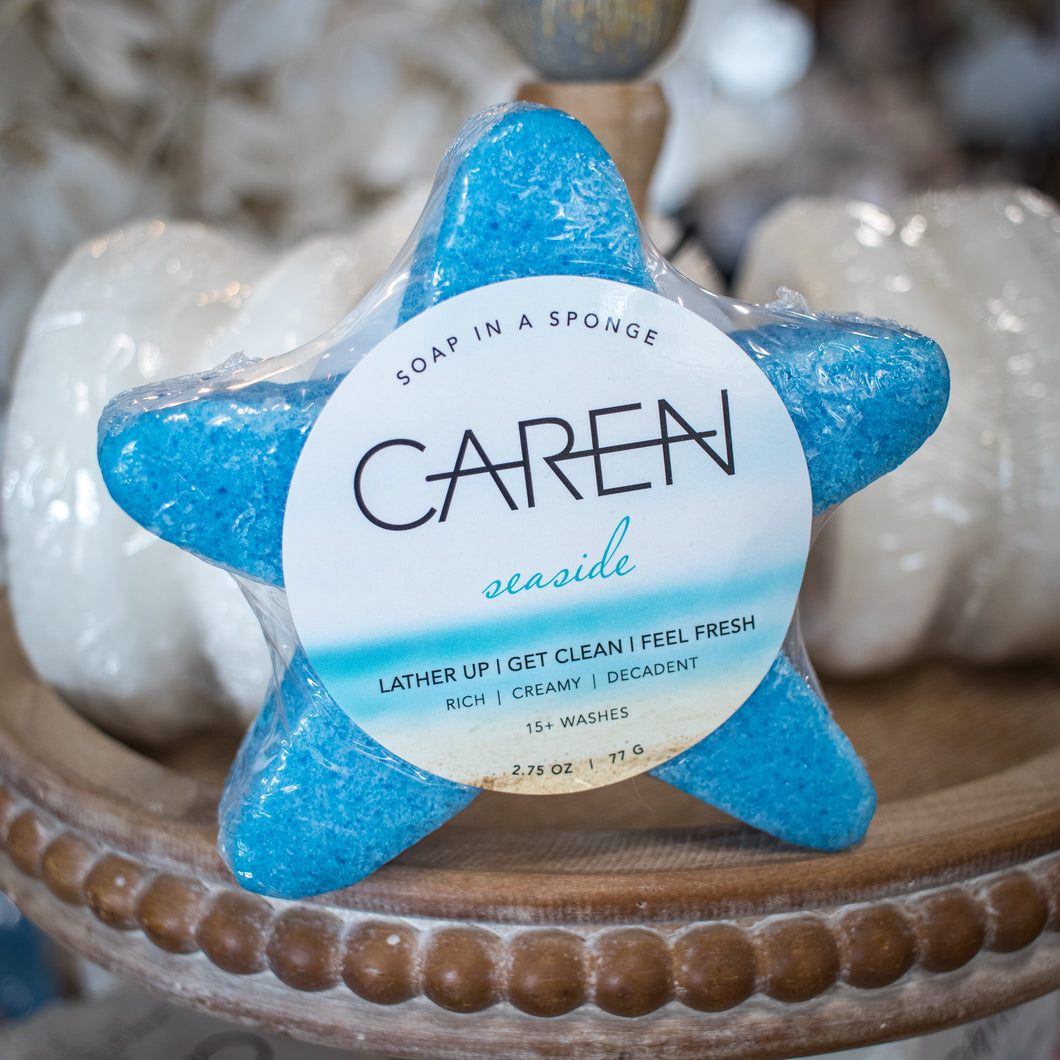 CAREN Soap in a Sponge - Seaside