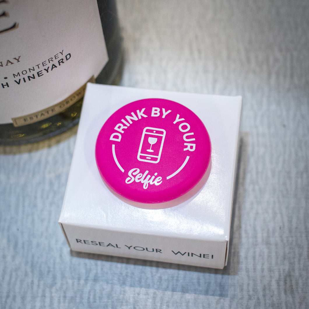 CapaBunga Wine Bottle Cap - Drink By Your Selfie