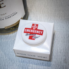 Load image into Gallery viewer, CapaBunga Wine Bottle Cap - In Case of Emergency