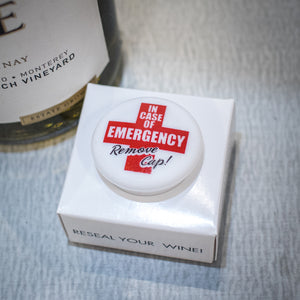 CapaBunga Wine Bottle Cap - In Case of Emergency