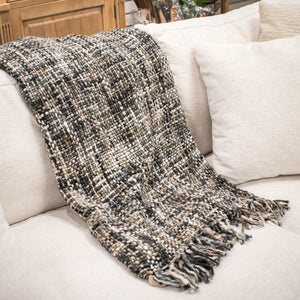 Chunny Throw Blanket - Natural Slate