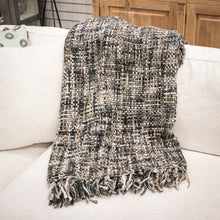 Load image into Gallery viewer, Chunny Throw Blanket - Natural Slate