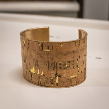 Load image into Gallery viewer, Cork Cuff Bracelet