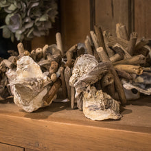Load image into Gallery viewer, Driftwood & Oyster Shell Garland