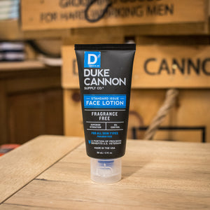 Duke Cannon Standard Issue Face Lotion (Travel Size)
