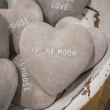 Load image into Gallery viewer, Heart Shaped Stone - To the Moon