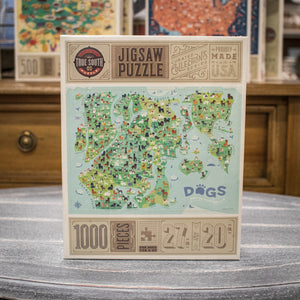 Jigsaw Puzzle - Dogs Make the World Go Round