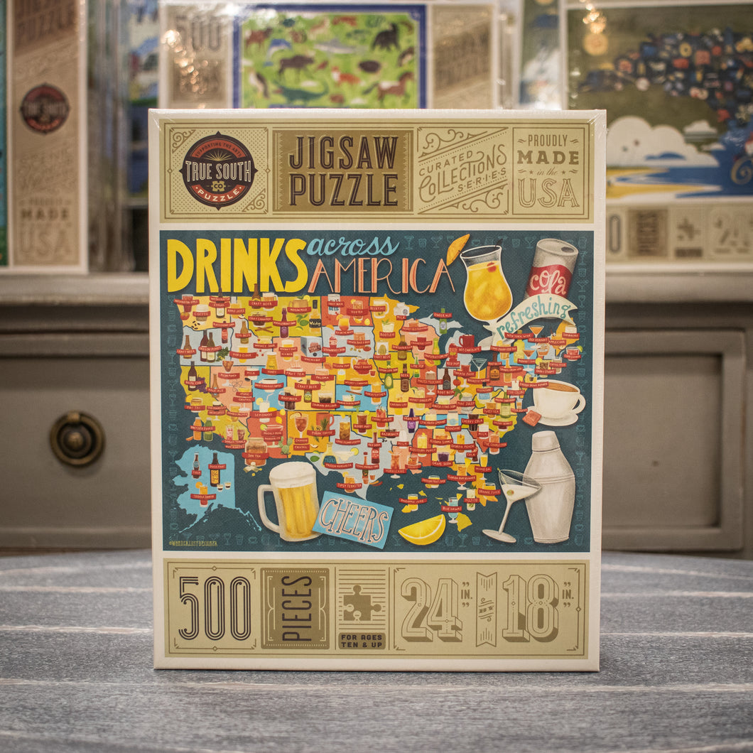 Jigsaw Puzzle - Drinks Across America