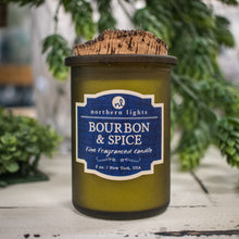 Load image into Gallery viewer, Northern Lights Spirit Jar Candle - Bourbon & Spice