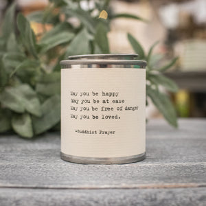 Shine Travel Candle - May You Be Happy