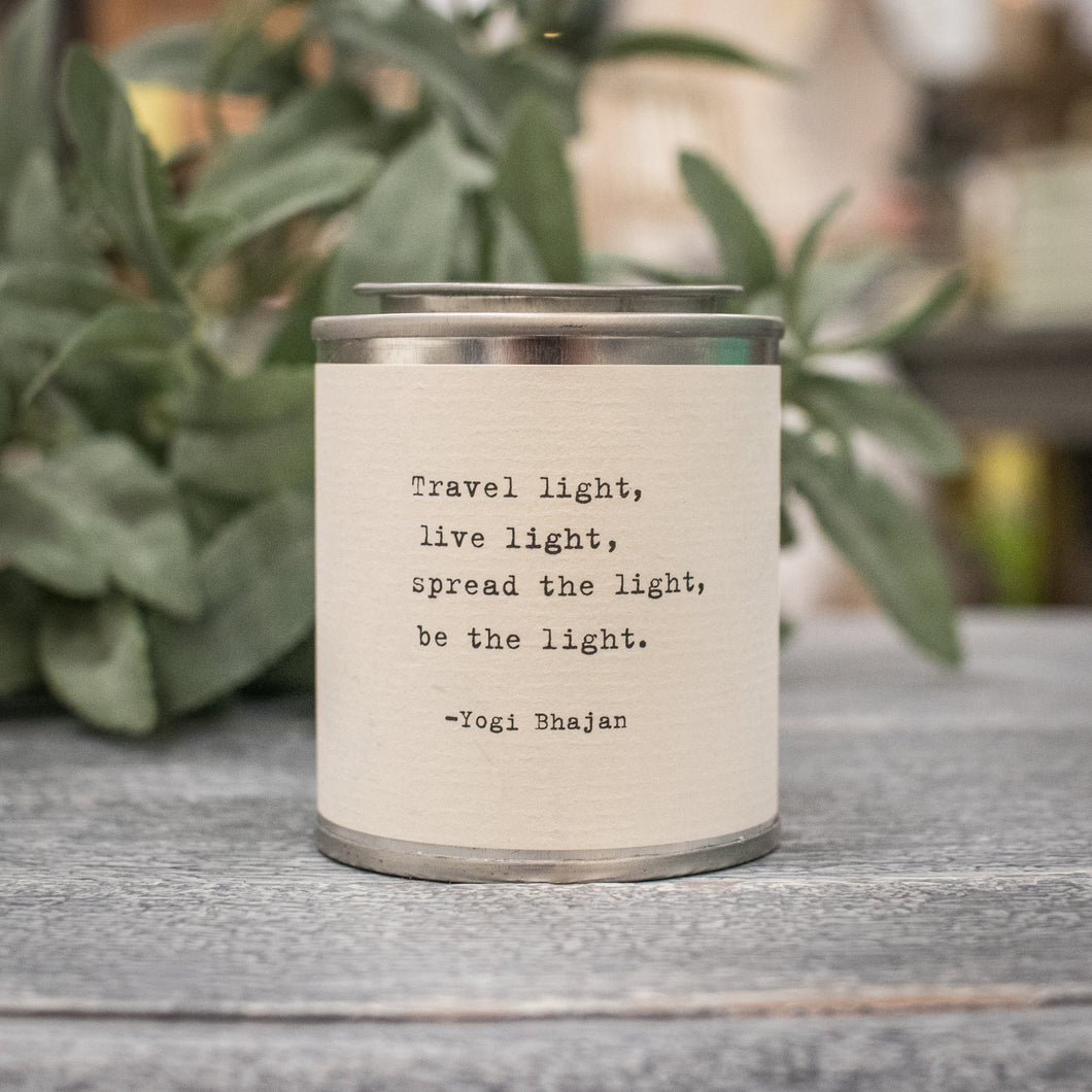 Shine Travel Candle - Travel Light