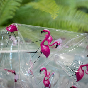 Shower Cap - Flamingos