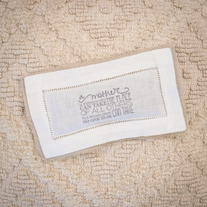 French Lavender Sachet - A Mother Is