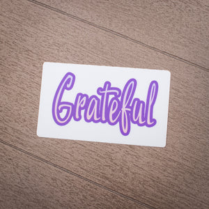 Grasshopper's Mermaid Sticker - Grateful