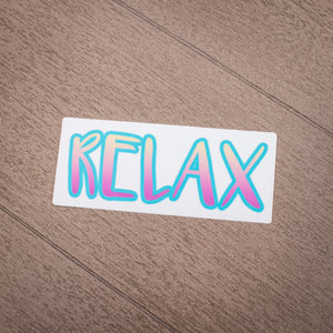 Grasshopper's Mermaid Sticker - Relax