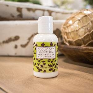 Greenwich Bay Mini Lotion - Cucumber Olive Oil