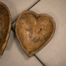 Load image into Gallery viewer, Wooden Heart Bowl - Natural