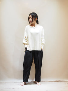 "kha:ki ""WIDE THERMAL TOP キナリ"""