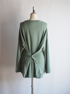 "kha:ki ""3WAY WIDE TOP VINTAGE GREEN"""