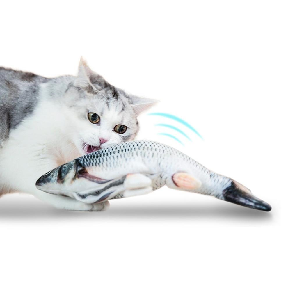 MOVING FISH CAT TOY