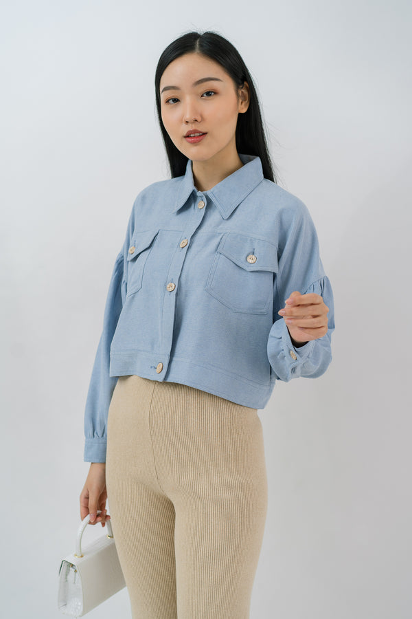 Skylar Jacket Light Blue