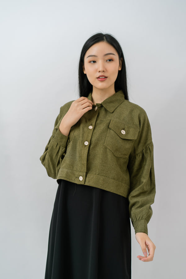 Skylar Jacket Olive Green