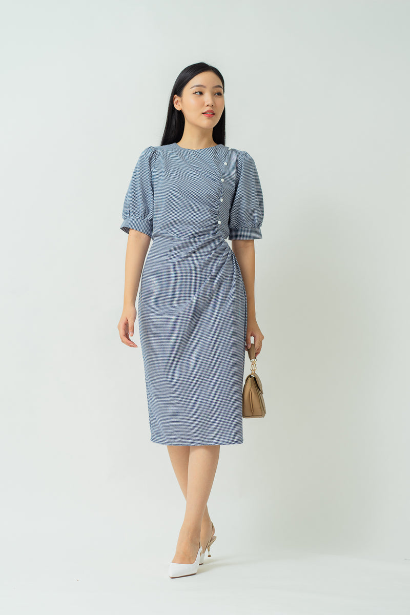 Estelle Dress Navy