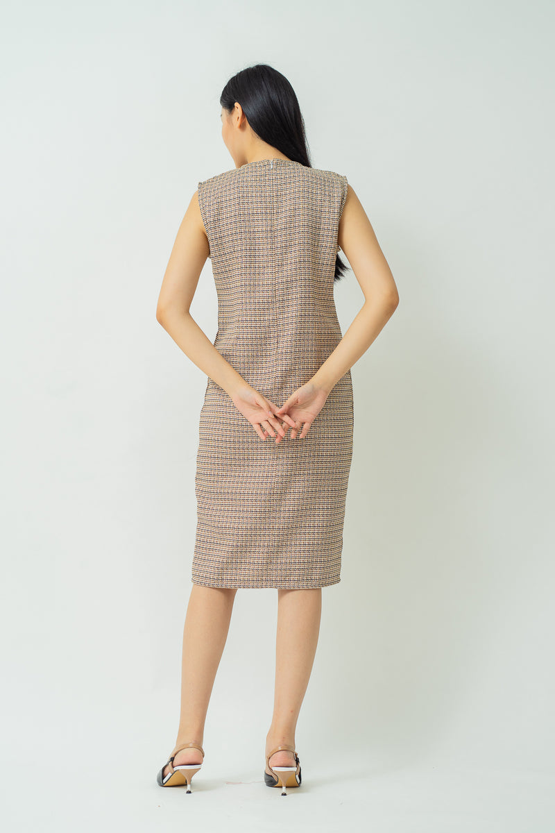 Duvlyn Dress Brown