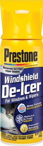 Prestone De-Icer Windshield and Wiper