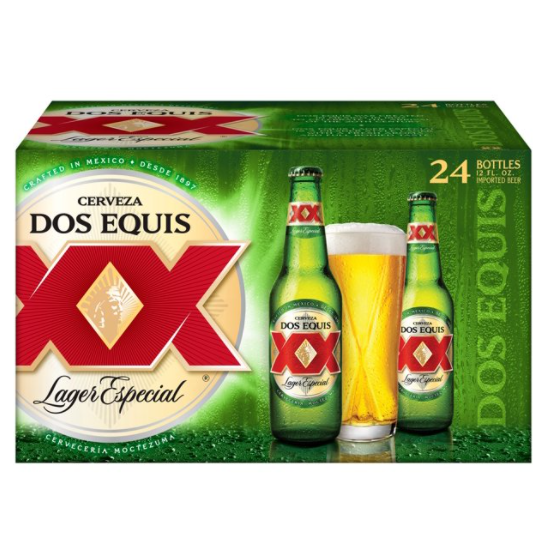 Dos Equis 24 Pack Bottle Beer