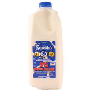 Schneider's 2% Milk 1/2 Gallon