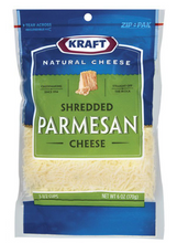 Load image into Gallery viewer, Kraft Parmesan Shredded Cheese