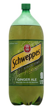 Load image into Gallery viewer, Schweppes Ginger Ale 2L