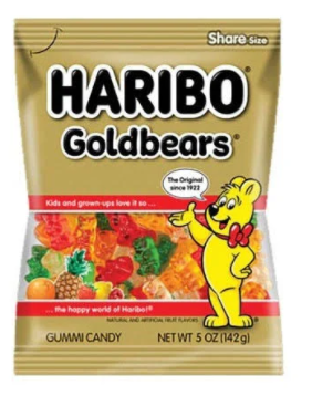 Haribo Goldbears Gummi Candy