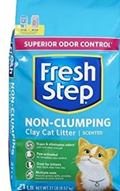 Fresh Step Non-Clumping with Febreze Cat Litter