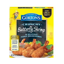 Load image into Gallery viewer, Gorton's Crunchy Jumbo Butterfly Shrimp