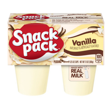 Load image into Gallery viewer, Snack Pack Vanilla Pudding