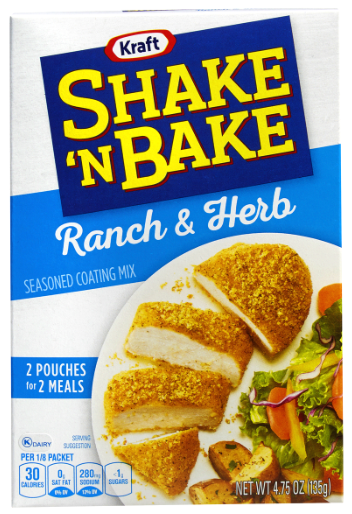 Shake 'N Bake Ranch & Herb